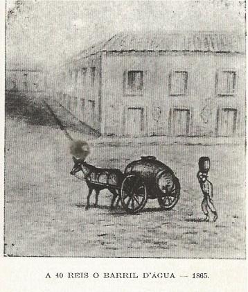 A 40 réis o barril dágua - 1865