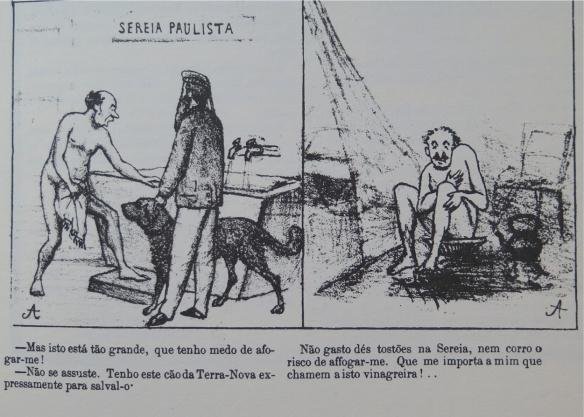 O Cabrião. 07 de abril de 1867.  Agostini
